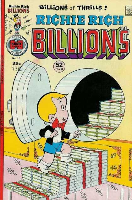 [Richie Rich Billions #10]