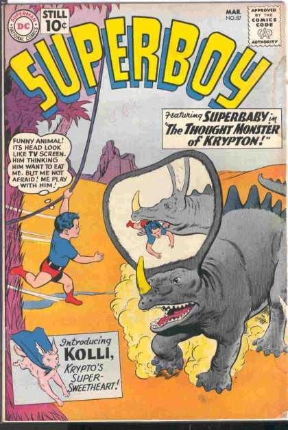 [Superboy #87]