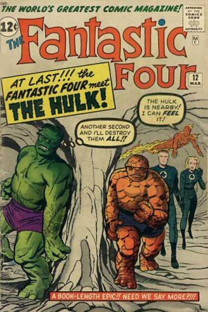 [Fantastic Four #12]