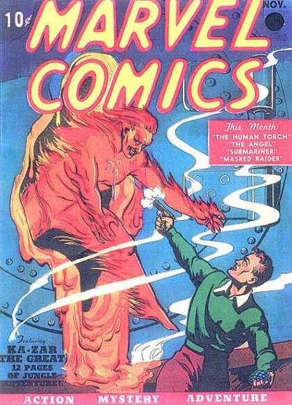 [Marvel Comics #1]