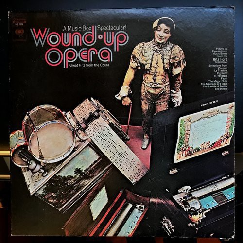 Woundup Opera album cover - front