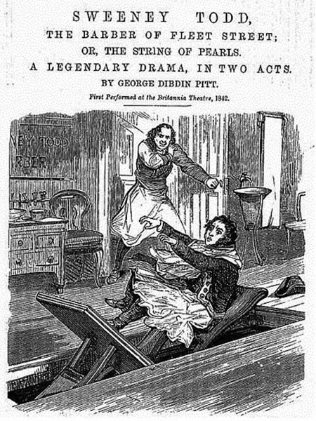 cover of sweeney todd penny dreadful